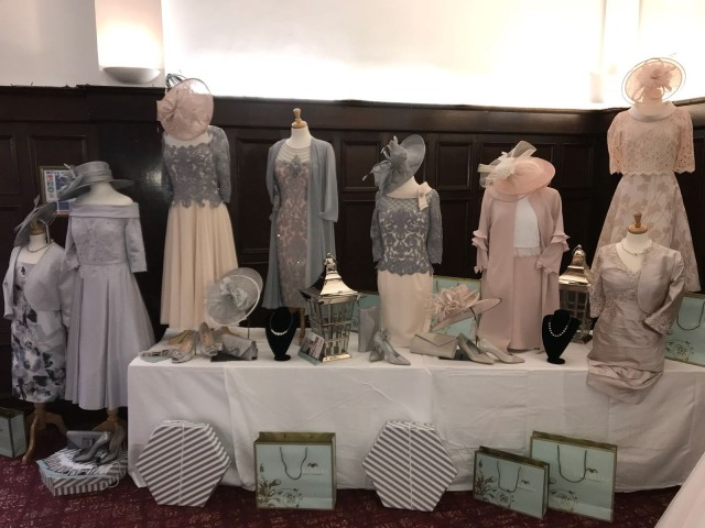 We attended the local Bosworth Hall Wedding Fayre
