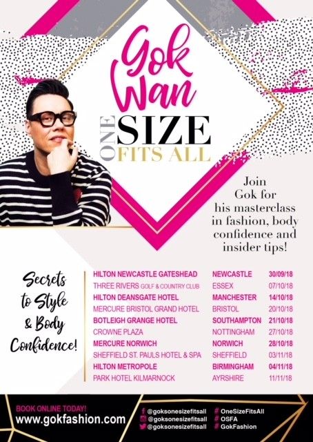 "Gok Wan ""One Size Fits All"""
