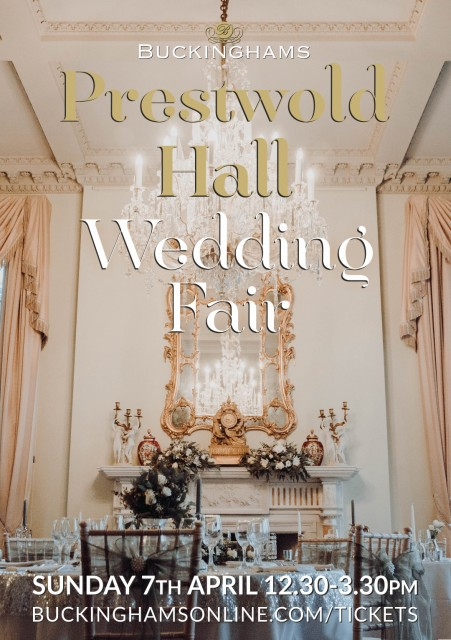 Dressini will be at Prestwold Hall 7th April 2019