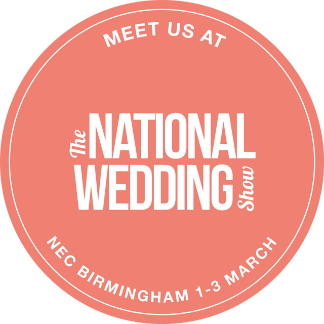 DRESSINI WILL BE AT THE NATIONAL WEDDING SHOW, BIRMINGHAM NEC, ON FRIDAY 1ST TO SUNDAY 3RD MARCH 2019.