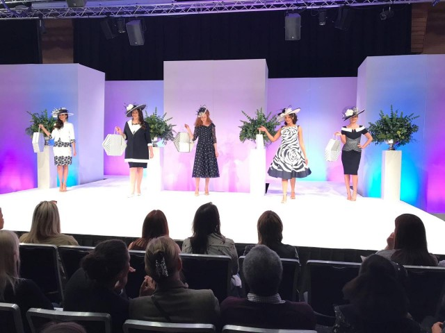Dressini Catwalk at the Nottingham I Do Wedding Exhibition