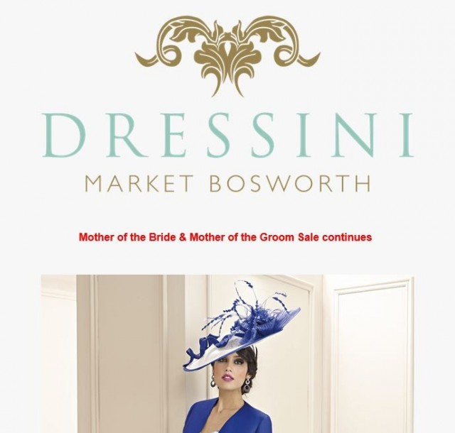 Mother of the Bride & Mother of the Groom Sale Continues at Dressini