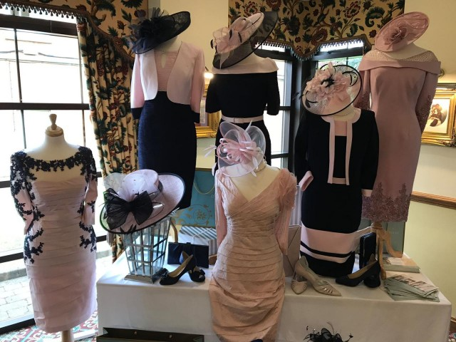 Dressini were at the Ansty Hall Wedding Fair