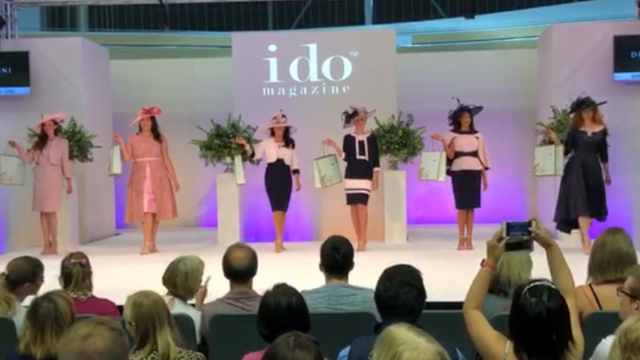 Dressini were at the I-Do Wedding Show at Derby Velodrome