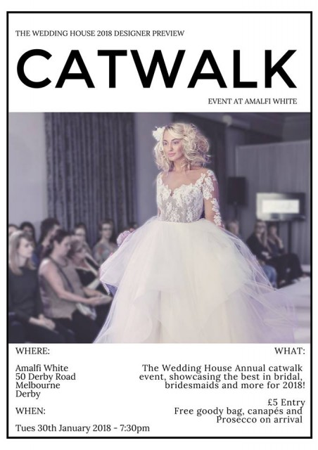 Amalfi White Annual Wedding Catwalk Show